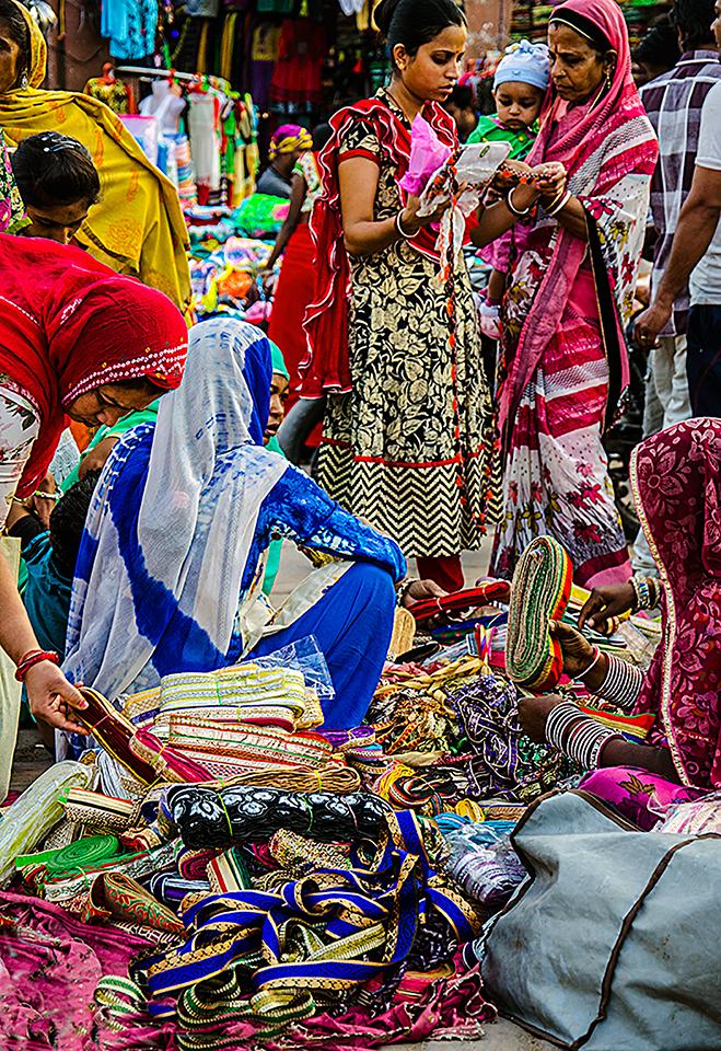 Jodpur street market Fran Harper