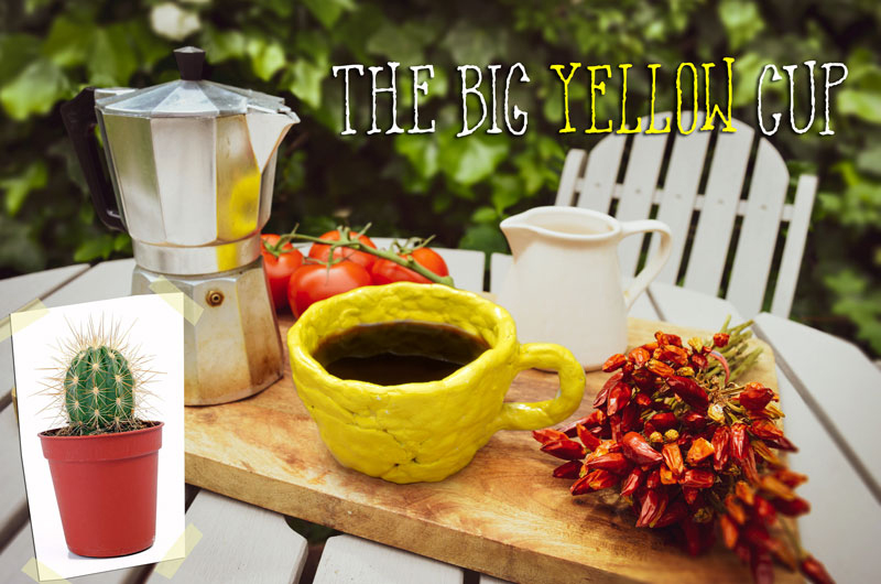 brand hero big yellow mug