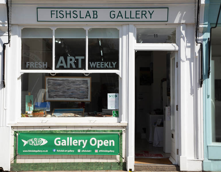 Fishslab Art Gallery Whitstable