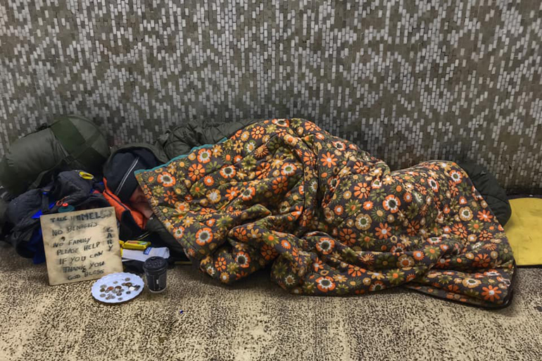 Canterbury the Unimaginable City Homelessness