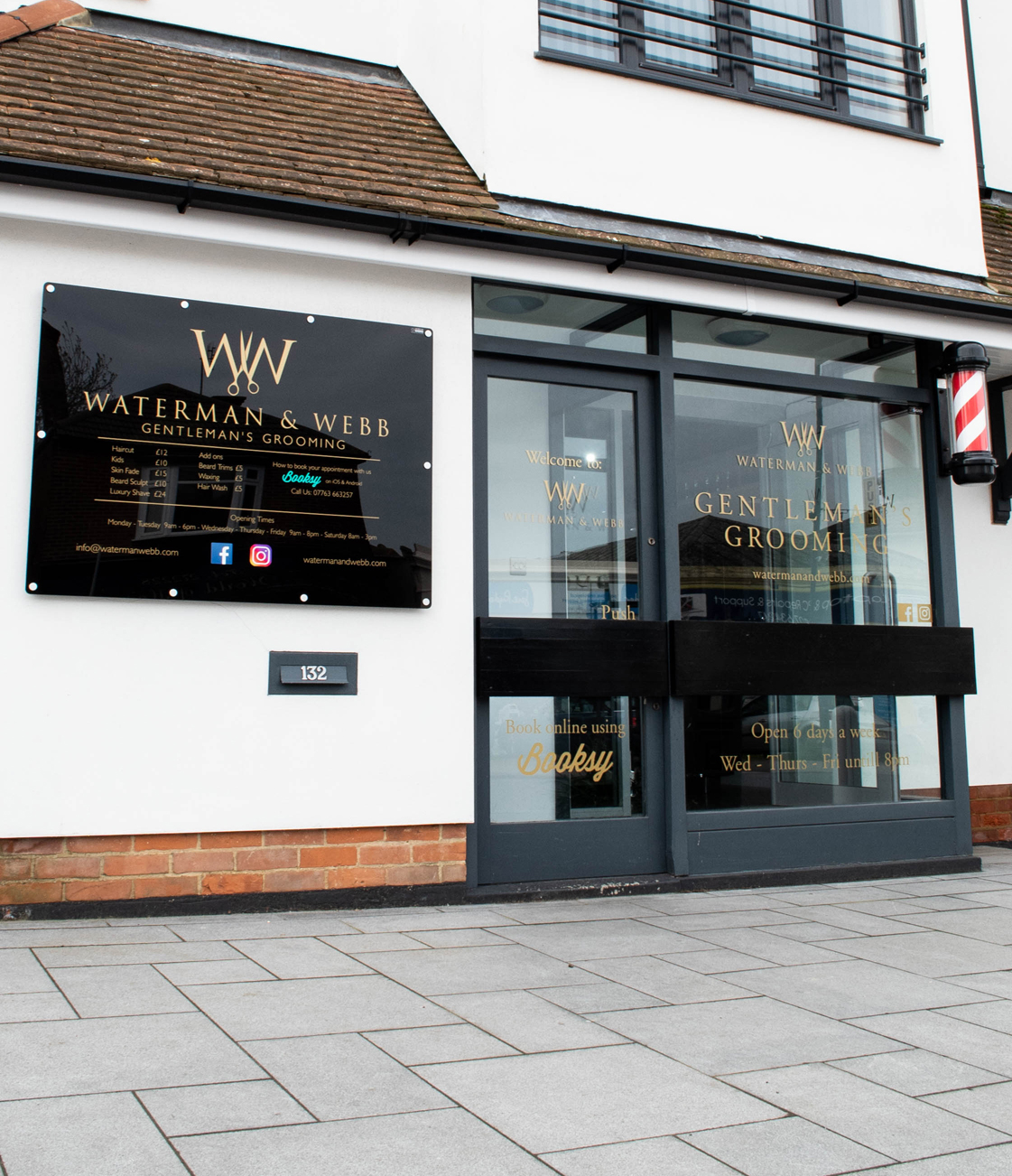 Whitstable Hairdressers Waterman and Webb