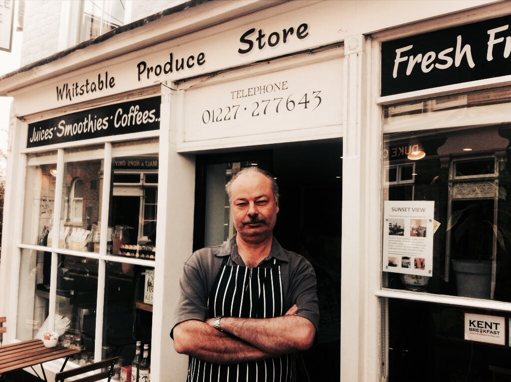 Whitstable Produce Store Keep it Local Steve